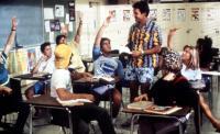 SUMMER SCHOOL, Patrick Labyorteaux (Jock), Mark Harmon (Ctr), Courtney Thorne-Smith, 1987. (c) Paramount Pictures.