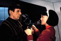 STAR TREK VI: THE UNDISCOVERED COUNTRY, Leonard Nimoy, Kim Cattrall, 1991. (c)Paramount..