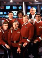 STAR TREK VI: THE UNDISCOVERED COUNTRY, (back row l-r): George Takei, Nichelle Nichols, James Doohan, (front l-r): Walter Koenig, DeForest Kelley, William Shatner, Leonard Nimoy, 1991, (c)Paramount