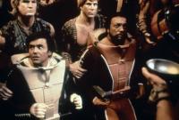 STAR TREK II: THE WRATH OF KHAN, foreground from left: Walter Koenig, Paul Winfield, 1982. ©Paramount