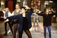 STEPPING OUT, Jane Krakowski, Bill Irwin, Liza Minnelli, Sheila McCarthy, 1991