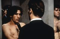 SOME MOTHER'S SON, barechested from left: Aidan Gillen, David O'Hara, 1996, © Columbia