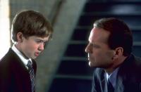 THE SIXTH SENSE, Haley Joel Osment, Bruce Willis, 1999. (c) Buena Vista Pictures.