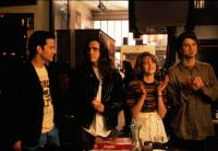 SINGLES, Campbell Scott, Matt Dillon, Bridget Fonda, Jim True, 1992