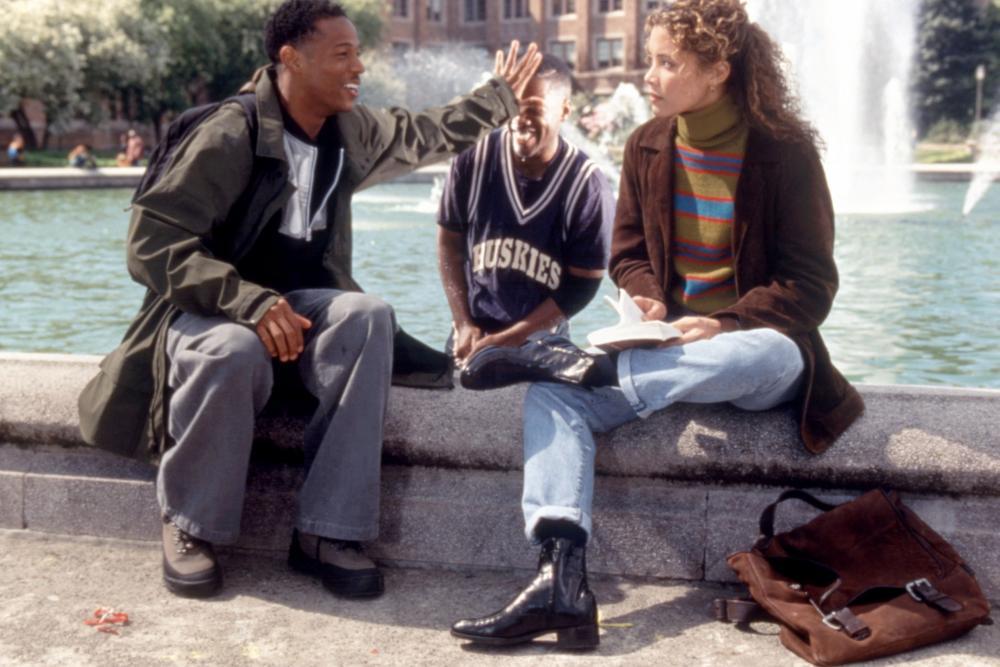 THE SIXTH MAN, Marlon Wayans, Kadeem Hardison, Michael Michele, 1997, (c)Buena Vista Pictures