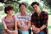 SIXTEEN CANDLES, Molly Ringwald, Director John Hughes, Mark Schoeffling, 1984. (c)Universal Pictures.
