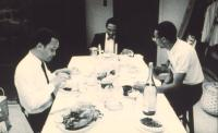 SHE'S GOTTA HAVE IT, Tommy Redmond Hicks, John Canada Terrell, Spike Lee, 1986, at dinner