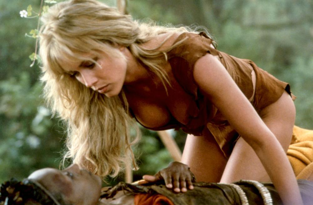 SHEENA, Tanya Roberts (r.), 1984, (c)Columbia Pictures