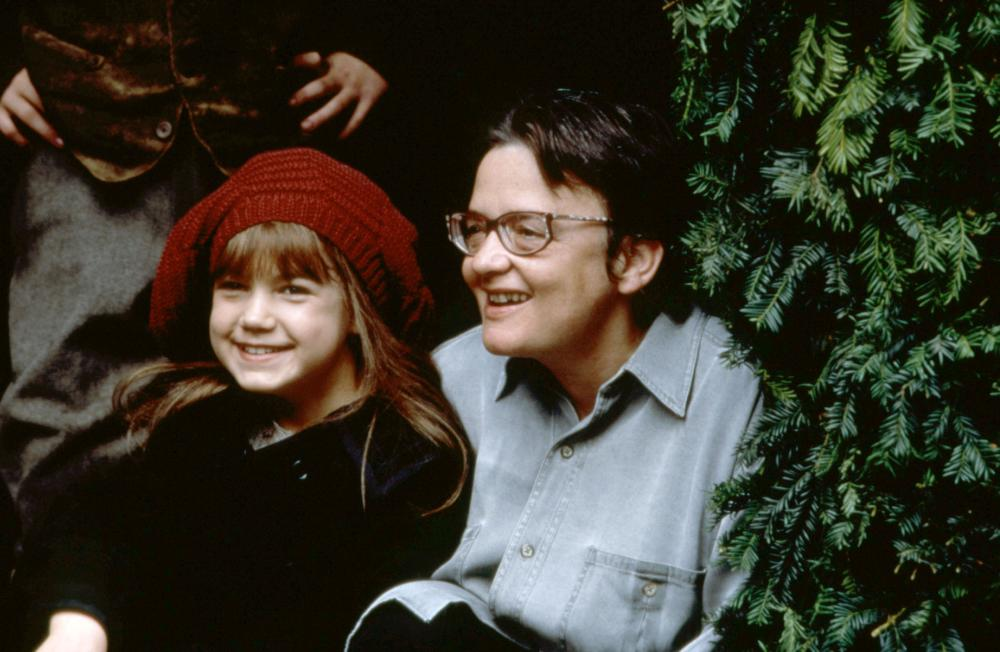 THE SECRET GARDEN, Kate Maberly, director Agnieszka Holland, on set, 1993. ©Warner Bros.