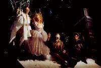 SCROOGED, Bob Goldthwait, Carol Kane, John Forsythe, David Johansen, 1988, (c)Paramount