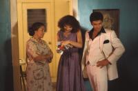 SCARFACE, Miriam Colon, Mary Elizabeth Mastrantonio, Al Pacino, 1983. (c) Universal Pictures.