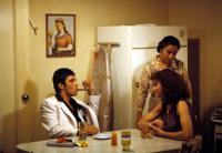 SCARFACE, Al Pacino, Miriam Colon, Mary Elizabeth Mastrantonio, 1983. (c) Universal Pictures.