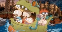 THE RUGRATS MOVIE,  Lil (front left), Tommy Pickles (voice: Elizabeth Daily), Chuckie Finster (top, voice: Christine Cavanaugh), Phil (front right, voice: Kath Soucie), Dil (top right, voice: Tara Strong), 1998. ©Paramount