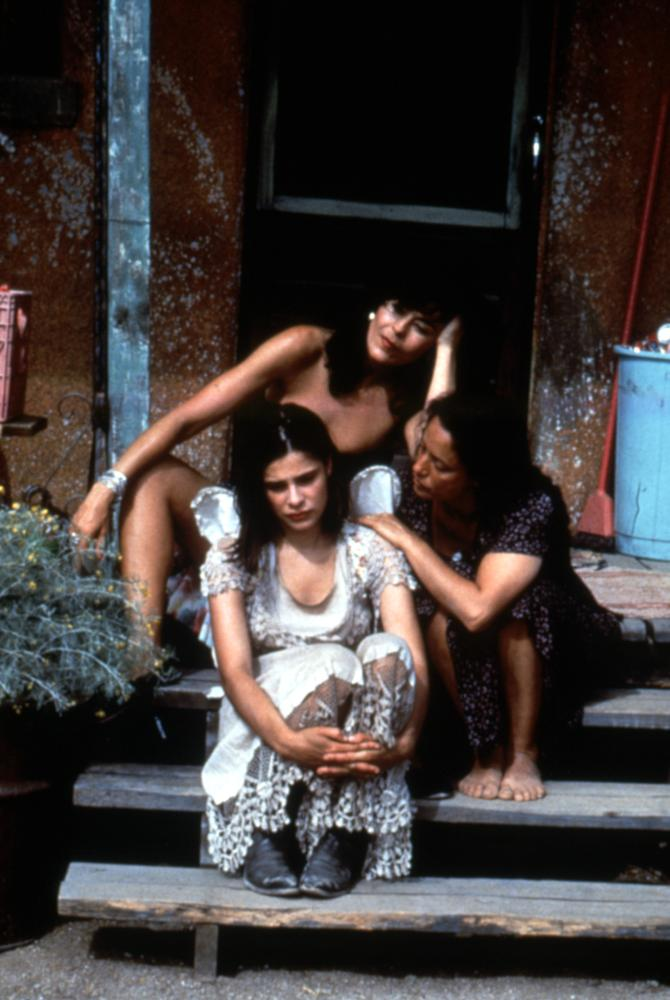 ROOSTERS, Maria Conchita Alonso, Sarah Lassez, Sonia Braga, 1993, (c)IRS Media