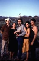 ROOSTERS, Valente Rodriguez, Sonia Braga, Edward James Olmos, Maria Conchita Alonso, Danny Nucci, 1993, (c)IRS Media