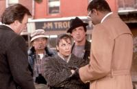 ROCKY V, Burt Young, Talia Shire, Sylvester Stallone, Richard Gant, 1990, (c)United Artists