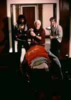 RETURN OF THE LIVING DEAD, James Karen (center), Clu Gulager (r.), 1985, (c)Orion Pictures