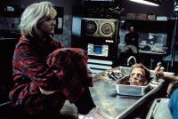 RE-ANIMATOR, Barbara Crampton, David Gale, 1985