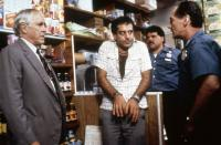 QUICK CHANGE, Jason Robards, Tony Shalhoub, Joe Pentangelo, Bill Raymond,  1990. ©Warner Bros.