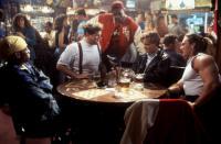 THE PROGRAM, Omar Epps, Abraham Benrubi, Duane Davis, Craig Sheffer, Andrew Bryniarski, 1993, (c)Buena Vista Pictures