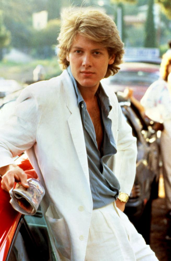 PRETTY IN PINK, James Spader, 1986. (c) Paramount Pictures.
