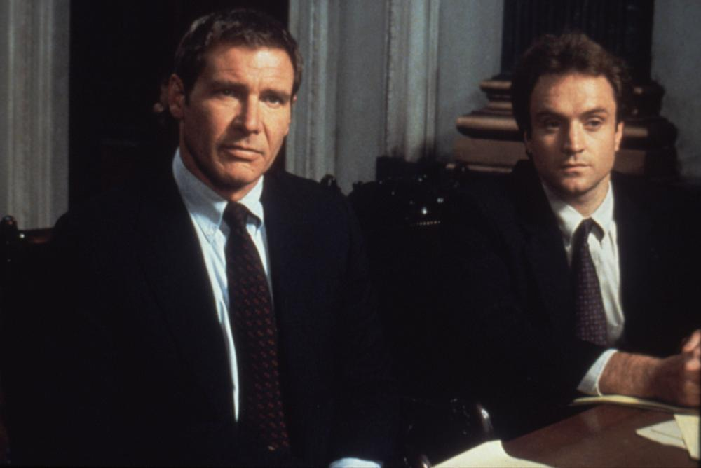 PRESUMED INNOCENT, Harrison Ford, Bradley Whitford, 1990, (c)Warner Bros