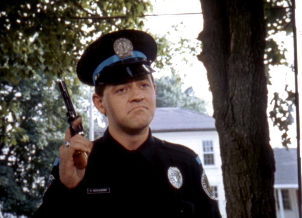POLICE ACADEMY, David Graf, 1984. ©Warner Bros.