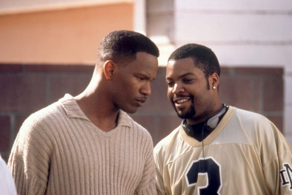 THE PLAYERS CLUB, Jamie Foxx, Ice Cube, 1998, (c)New Line Cinema