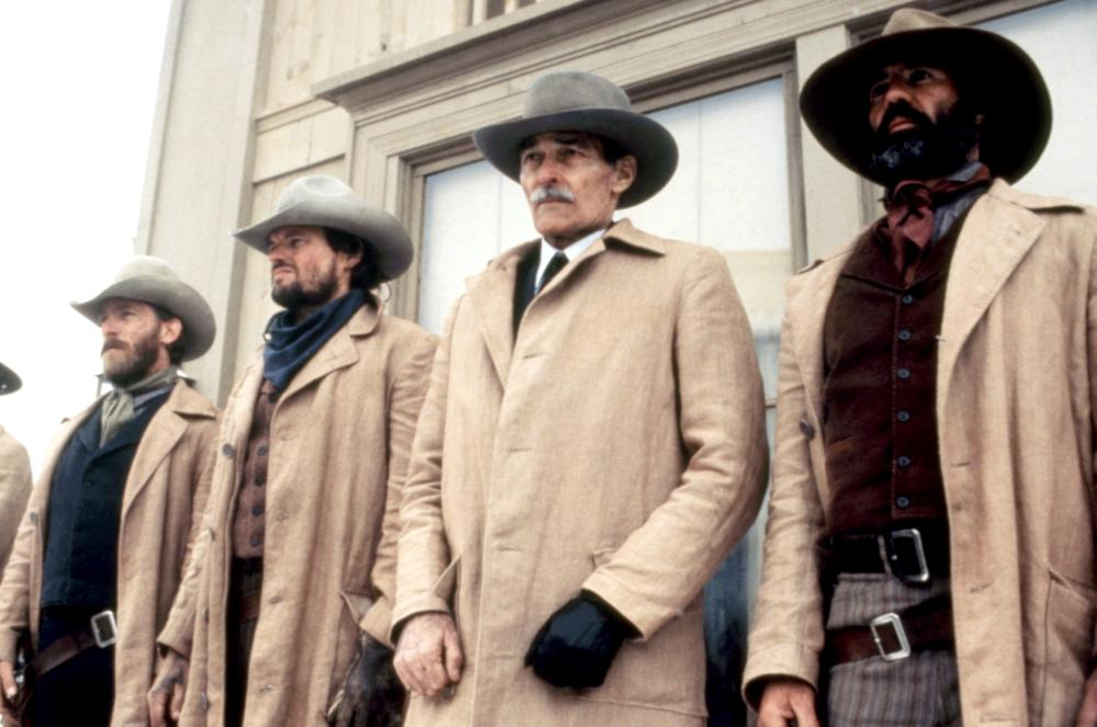 PALE RIDER, Richard Dysart (second from right), 1985, (c)Warner Bros.