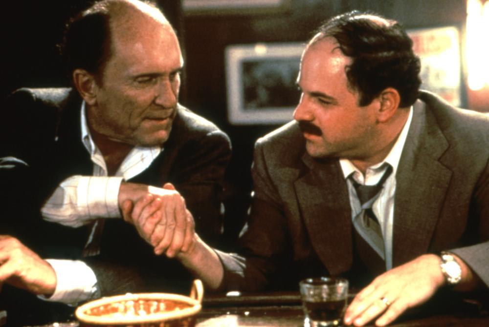 THE PAPER, Robert Duvall, Jason Alexander, 1994, (c)Universal Pictures