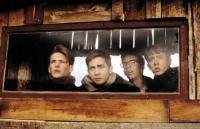 OCTOBER SKY, William Lee Scott, Jake Gyllenhaal, Chris Owen, Chad Lindberg, 1999