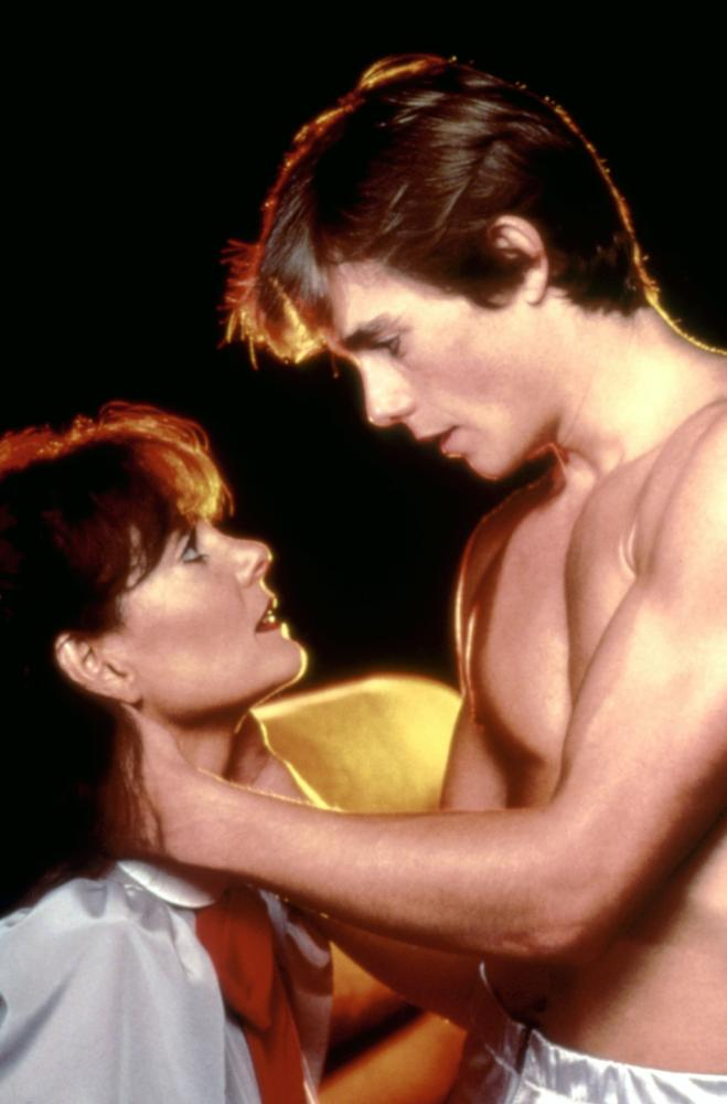 A NIGHT IN HEAVEN, Lesley Ann Warren, Christopher Atkins, 1983, TM and Copyright (c)20th Century Fox Film Corp. All rights reserved.