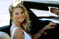 NATIONAL LAMPOON'S VEGAS VACATION, Christie Brinkley, driving a Ferrari, 1997.