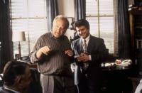 MY COUSIN VINNY, director Jonathan Lynn, Joe Pesci, on set, 1992. ©20th Century Fox