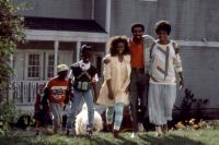 MOVING, (l-r): Ishmael Harris, Raphael Harris, Stacey Dash, Richard Pryor, Beverly Todd, 1988, (c)Warner Bros.