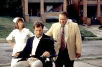 MONKEY SHINES, Jason Beghe (center), 1988, (c)Orion Pictures