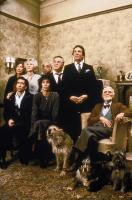 MOONSTRUCK, Julie Bovasso, Nicolas Cage, Olympia Dukakis, Louis Guss, Cher, Vincent Gardenia, Danny Aiello, Feodor Chaliapin, 1987. (c) MGM.