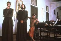THE MISSION, Jeremy Irons, Robert De Niro, Bercelio Moya, 1986, (c) Warner Brothers