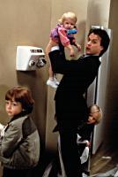 MR. MOM, Frederick Koehler, Courtney/Brittany White,  Michael Keaton, Taliesin Jaffe, 1983. (c) MGM.