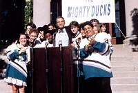 D3: THE MIGHTY DUCKS, Marguerite Moreau, Matt Doherty, Kenan Thompson, David Selby, Joshua Jackson, Justin Wong, Shaun Weiss, etc, 1996.