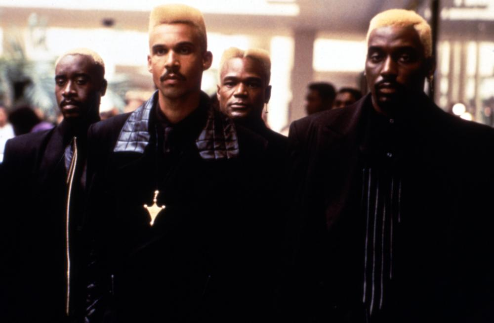 THE METEOR MAN, Don Cheadle, Roy Fegan, Bobby McGee, Big Daddy Kane, 1993, (c)MGM