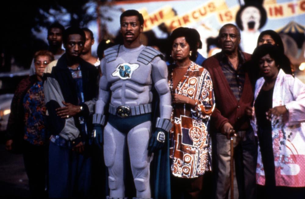 THE METEOR MAN, Eddie Griffin, Robert Townsend, Marla Gibbs, Robert Guillaume, Marilyn Coleman, 1993, (c)MGM