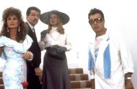 MAID TO ORDER, (l-r): Valerie Perrine, Tom Skerrit, Beverly D'Angelo, Dick Shawn, 1987, (c)New Century Vista Film Company
