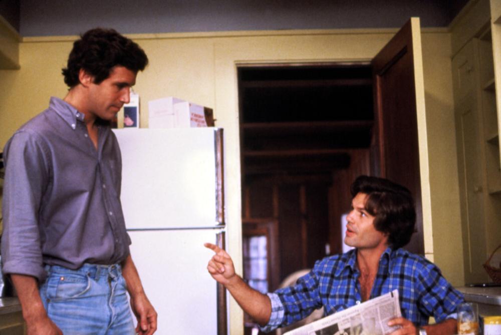 MAKING LOVE, Michael Ontkean, Harry Hamlin, 1982, TM & Copyright (c) 20th Century Fox Film Corp. All rights reserved.