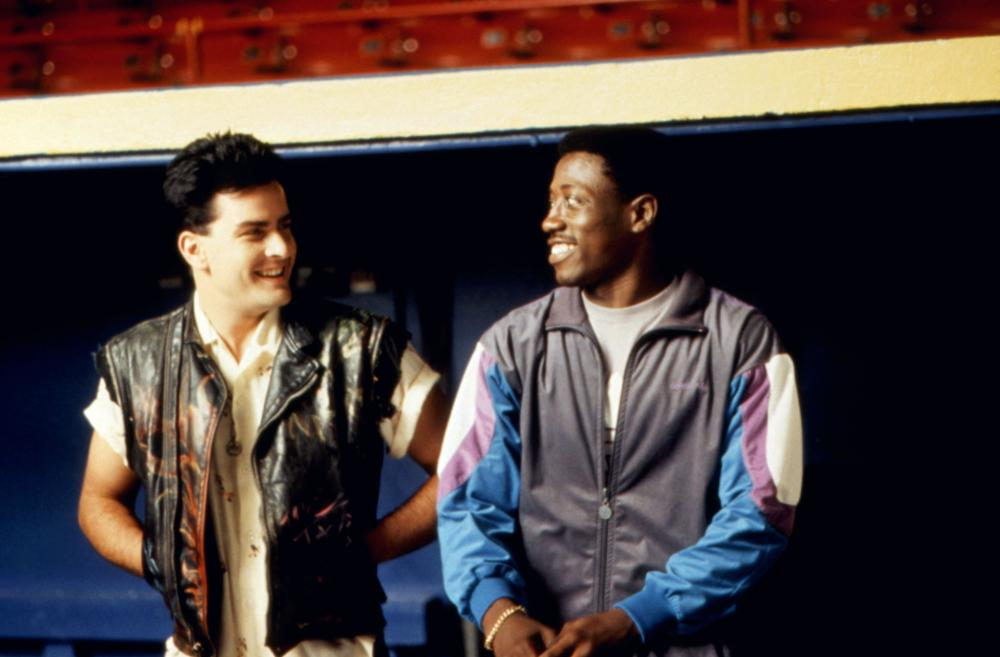 Image result for sheen and snipes in major league