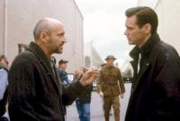 THE MAJESTIC, Director Frank Darabont, Jim Carrey, on set, 2001, (c)Warner Bros.