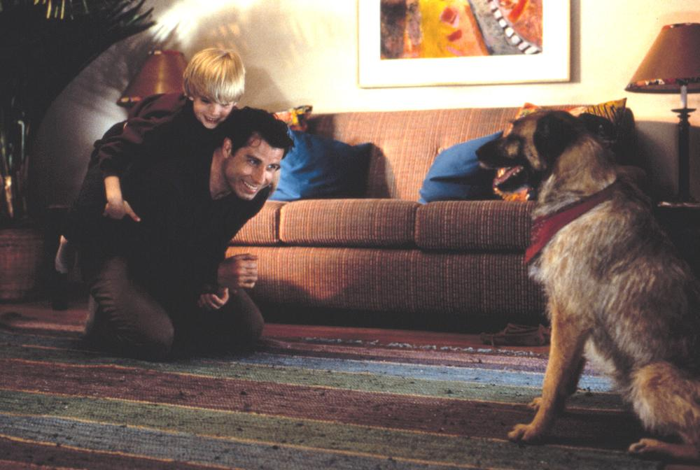 LOOK WHO'S TALKING NOW, John Travolta, David Gallagher, 1993