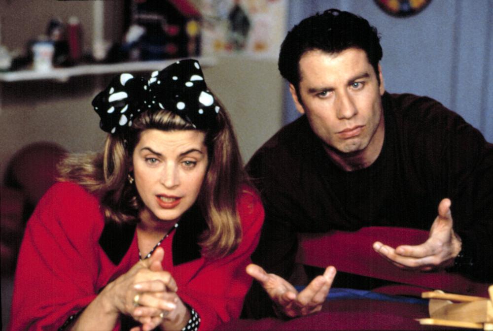LOOK WHO'S TALKING NOW, John Travolta, Kirstie Alley, 1993.