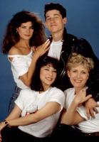 LOVERBOY, Kirstie Alley, Patrick Dempsey, Kim Miyori, Carrie Fisher, 1989. © TriStar Pictures.