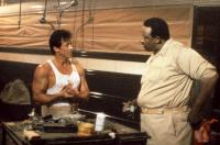 LOCK UP, Sylvester Stallone, Frank McRae, 1989, (c)TriStar Pictures